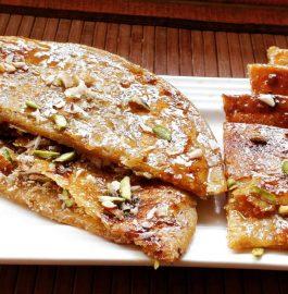 Dry Fruits Jaggery Paratha Recipe
