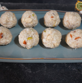 Makhana Coconut Ladoo Recipe