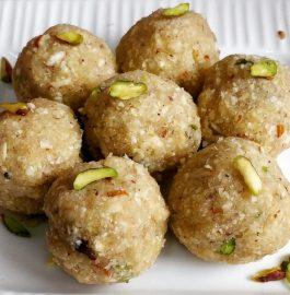 Makhana Coconut Ladoo Recipe