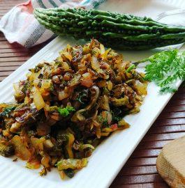 Karela Bhurji | 5 Minute Recipe