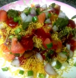 Nargisi Sevai Tikki Chaat Recipe