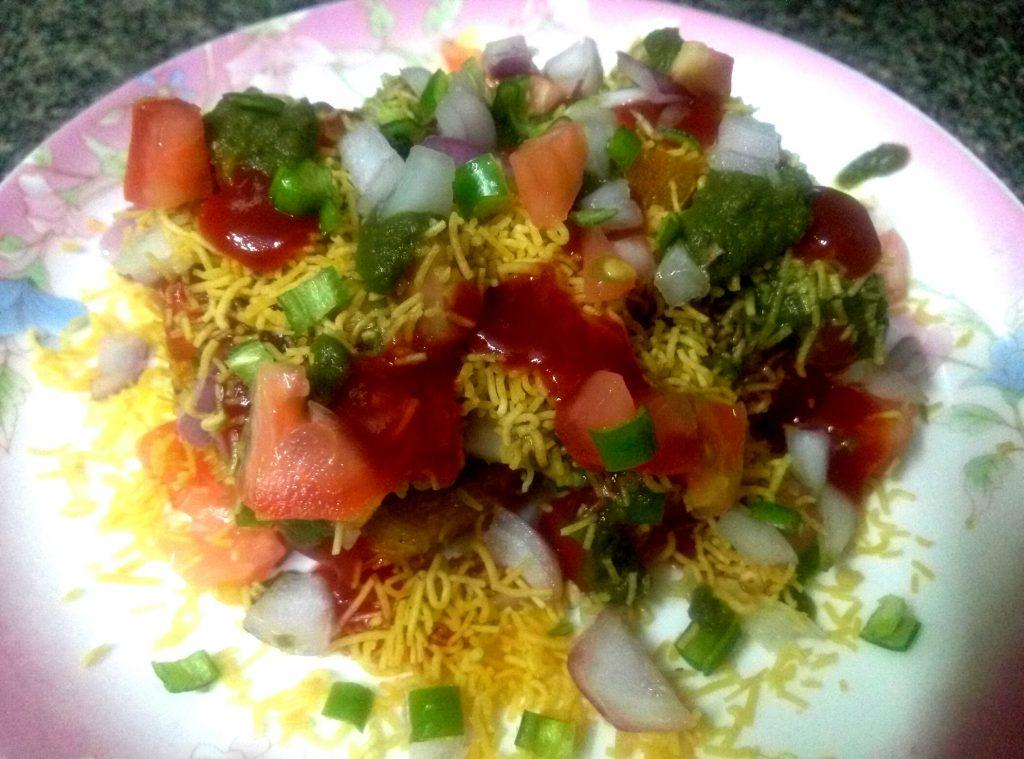 Nargisi Sevai Tikki Chaat Recipe