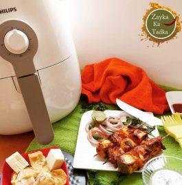 Paneer Tikka - Air Fryer Recipe