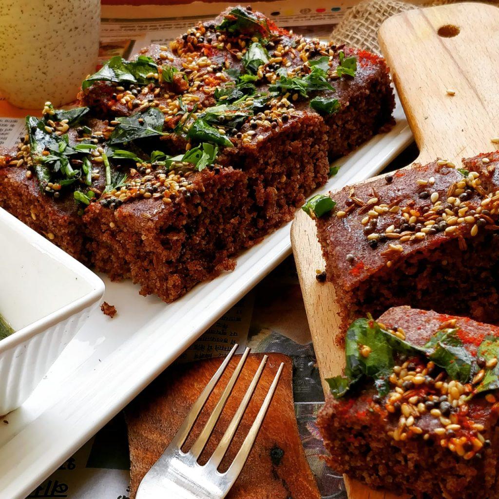 Ragi Dhokla Recipe
