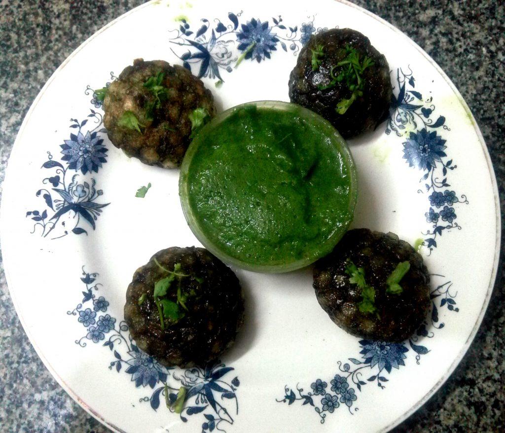 Sago Spinach Appam Recipe