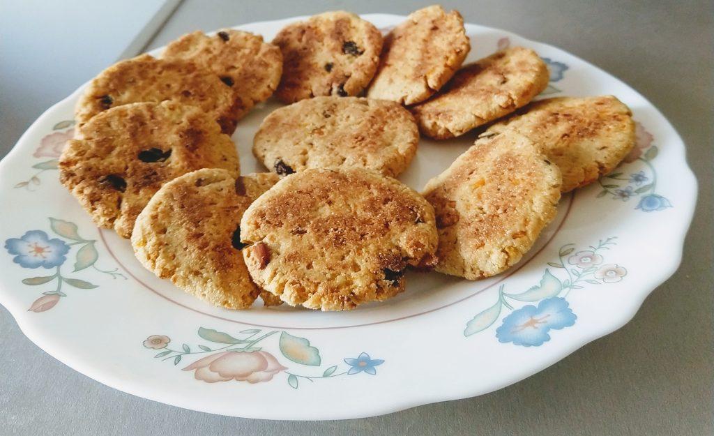 Rajgira Carrot Cookies Recipe
