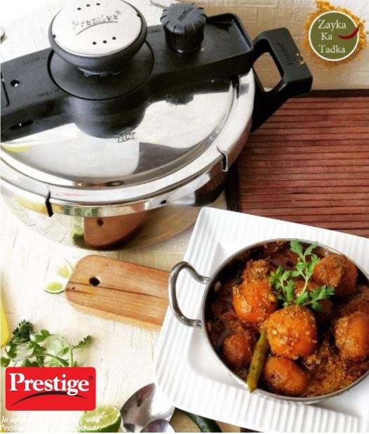 Kashmiri Dum Aloo - Restaurant Style Recipe