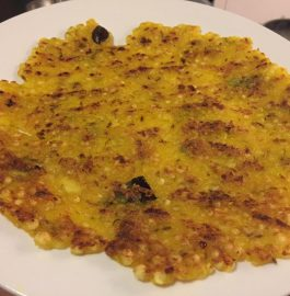 Sabudana Thalipeeth - Easy Recipe