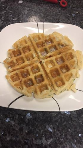 Waffle With Indian Twist Recipe