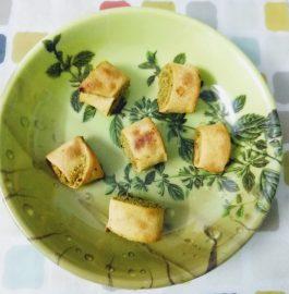 Bhakarwadi (Baked) Recipe