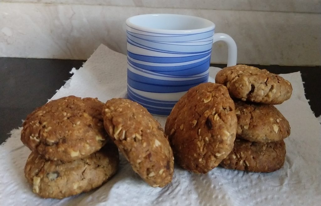 Dates Oat Cookies Recipe