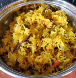 Methi Pulao | Methi Rice Recipe