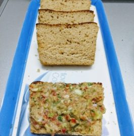 Wheat Bread With Guacamole - Homemade Recipe
