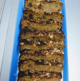 Dates Nuts Cake Recipe