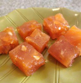 Bombay Halwa | Karachi Halwa | Corn Flour Halwa Recipe