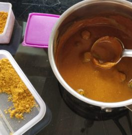 Instant Sambar Using Sambar Powder Recipe