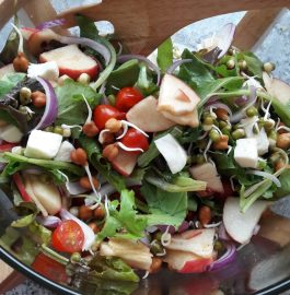 Apple And Sprouts Salad Recipe