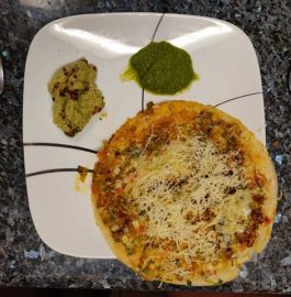 Cheese Manchurian Dosa Recipe