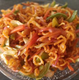 Chinese Bhel | Instant Snack Recipe