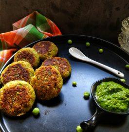 Matar Tikki | Green Peas Tikki Recipe
