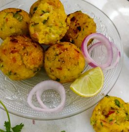 Rice Balls | Leftover Rice Recipe