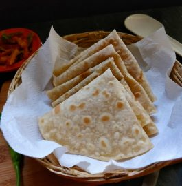 Dosti Roti | Two In One Roti Recipe