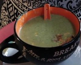 Almond Broccoli Soup Recipe