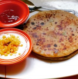 Vegetable Oats Paratha Recipe