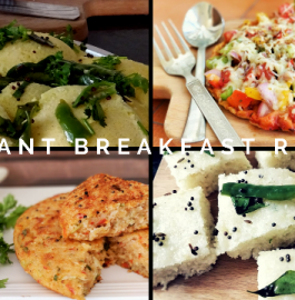 Quick Breakfast Recipe | 4 Easy Breakfast Options