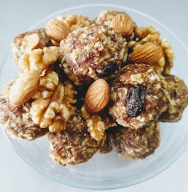 Oats Ladoos with Dry Fruits Recipe