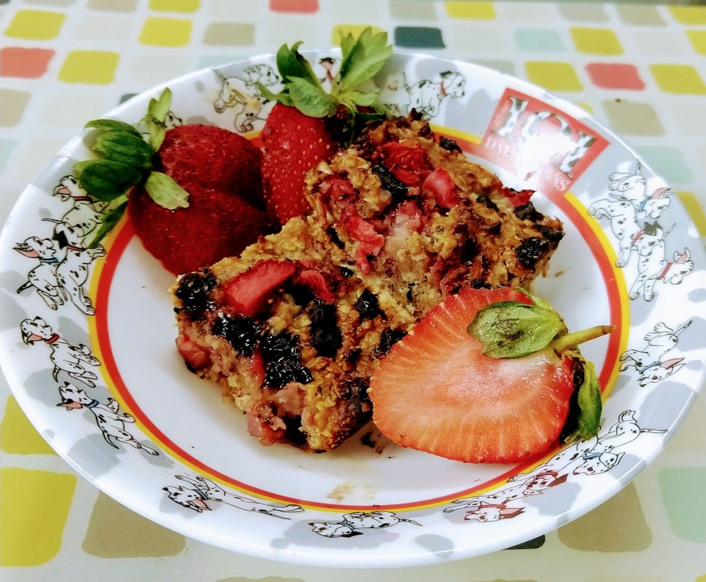 Strawberry and Chocolate Oats Bar Recipe