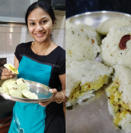 Stuffed Idli | Paneer Stuffed Idli | Idli Sandwich Recipe