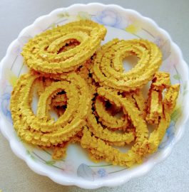 Wheat Chakli - Air Fryer Recipe