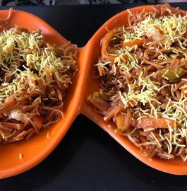 Chinese Bhel | Crispy Noodle Salad Recipe