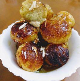 Gulab Jamun - Without Frying Recipe