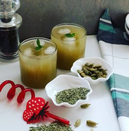 Saunf Ka Sharbat | Fennel Seeds Mocktail Recipe