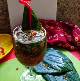 Paan Mocktail | Betel Leaf Mocktail Recipe