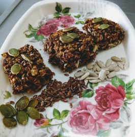 Almonds Oats Bar Recipe
