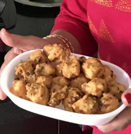 Masoor Dal Pakoda | Red Lentil Fritters Recipe