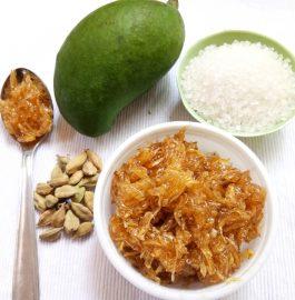 Kairicha Sakharamba | Raw Mango Jam Recipe