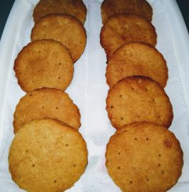 Wheat Flour Biscuits with Jaggery Recipe