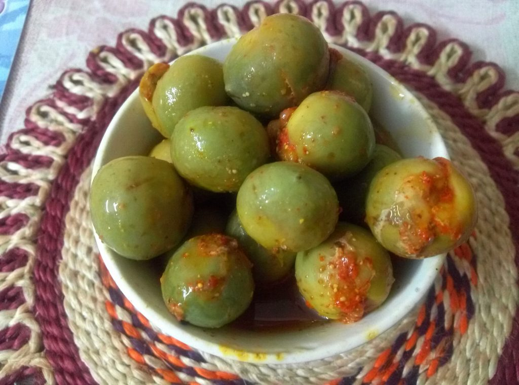 Bharwa Gunde ka Achaar Recipe