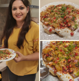 Papadi Chaat Recipe