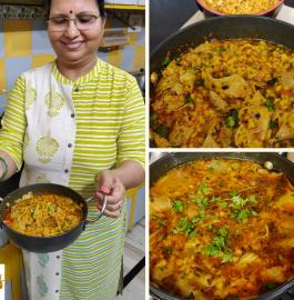Papad Mangodi Ki Sabzi | Rajasthani Papad Badiye Ki Sabzi Recipe