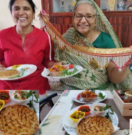 Khoba Roti | Rajasthani Khoba Roti Recipe