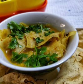 Papad Ki Sabzi Recipe