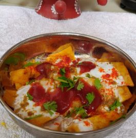 Pittod Ki Chaat Recipe