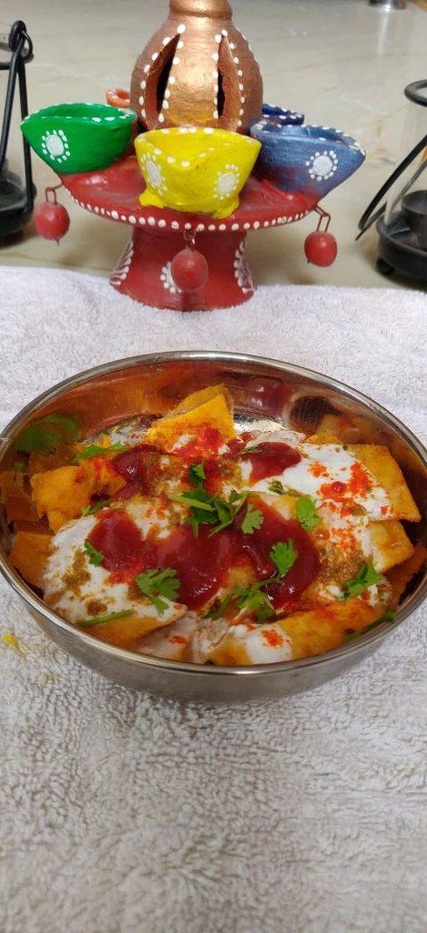Pittod Ki Chaat Recipe