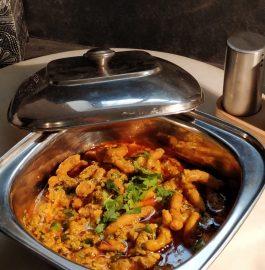Sev Ki Sabzi - Rajasthani Dhaba Style Recipe