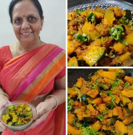 Kaddu Ki Sabji | Kaddu Ki Chatpati Sabji Recipe
